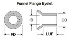 Eyelet Flat